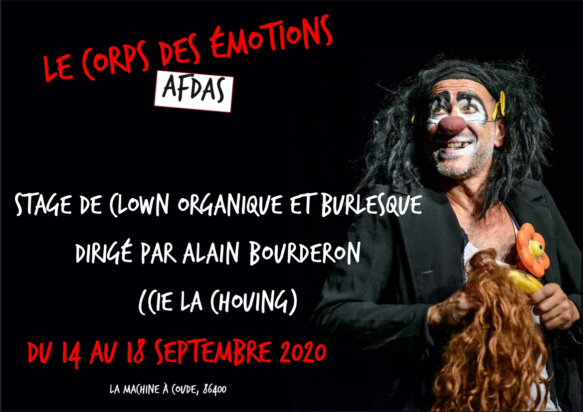 stage clown blouet paga bourderon rire